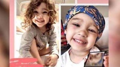 Tiene 3 años, sufre un cáncer que no se trata en Argentina y su familia pide ayuda para el tratamiento