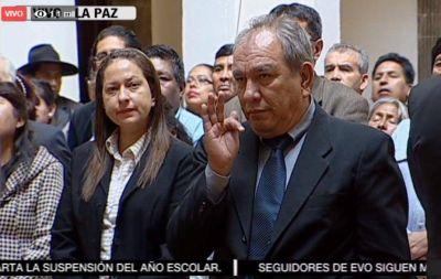 Posesionan a José Luis Rivero como presidente de YPFB
