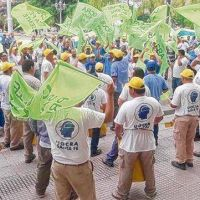 El acueducto Desvío Arijón se paralizó y hay 160 suspendidos