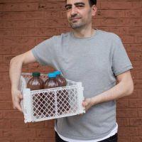 Negocios: Un tucumano diseñó un circuito de reciclado de aceite comestible