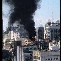 Incendio en un edificio del PAMI (y, otra vez, las suspicacias en Twitter...)