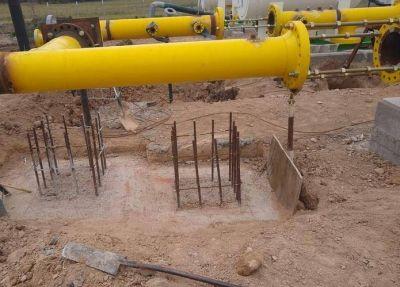 Gasoducto: La obra técnicamente está parada ya que le deben a la empresa 5 millones de dólares