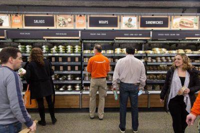 Amazon planea abrir supermercados sin cajeros en Estados Unidos en 2020