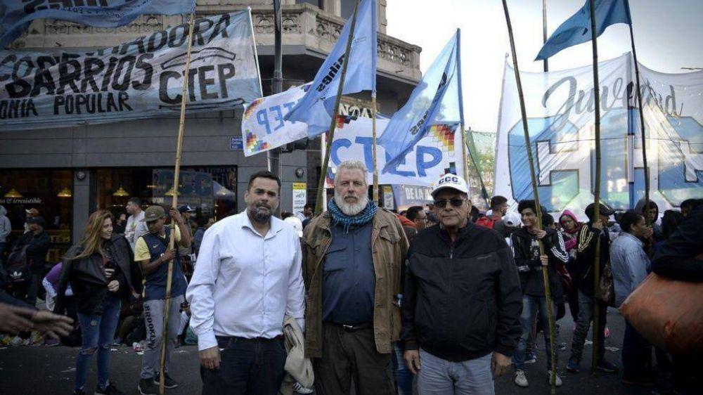 El triunvirato Cayetano se sindicaliza y gana espacio en el mapa gremial