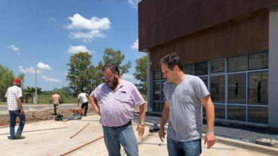 Navarro: Maggiotti recorrió la obra de terminal municipal