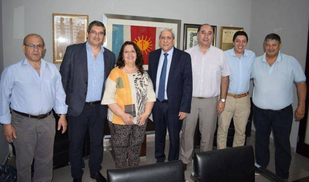El vicegobernador recibió a la nueva conducción de la Aefip