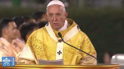 Homilía del Papa Francisco de la Misa en el estadio nacional de Tailandia