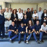 OSSE reconoció a los agentes que se jubilaron y para los que cumplen 25 y 30 años de servicio