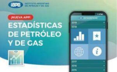 El IAPG creó una APP de estadísticas del sector petrolero
