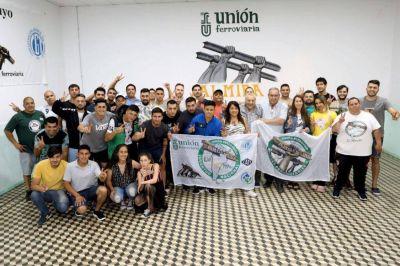 La Juventud Ferroviaria llegó a Mendoza para una jornada de debates y proyección