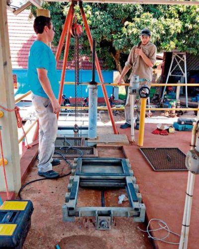 Invierten en obras para mejorar el servicio de agua