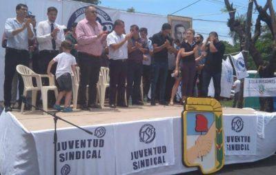 Realizaron el lanzamiento de la Juventud Sindical Peronista en Posadas y adelantaron cuatro líneas de trabajo