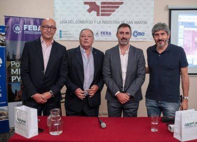 OSDEPYM firmó una alianza con la Liga del Comercio y la Industria de San Martín