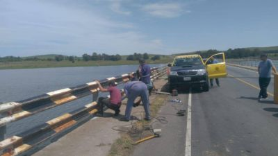 Riesgo de muerte y contaminación en la ruta 51: el puente del dique, en el centro de las críticas y reclamos