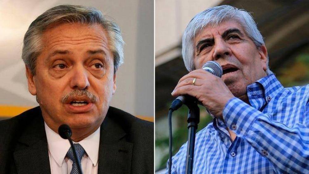 La relación entre Hugo Moyano y Alberto Fernández, un vínculo al cercano ahora condicionado por un fuerte lobby por cargos en el gabinete