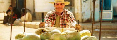 Se van acomodando los melones