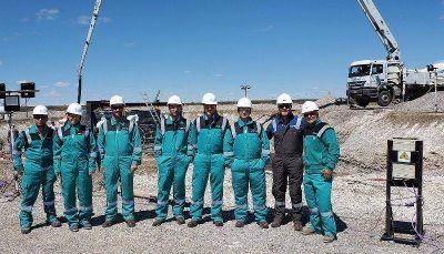 Autoridades de la provincia de Santa Cruz recorrieron las obras del Parque eólico