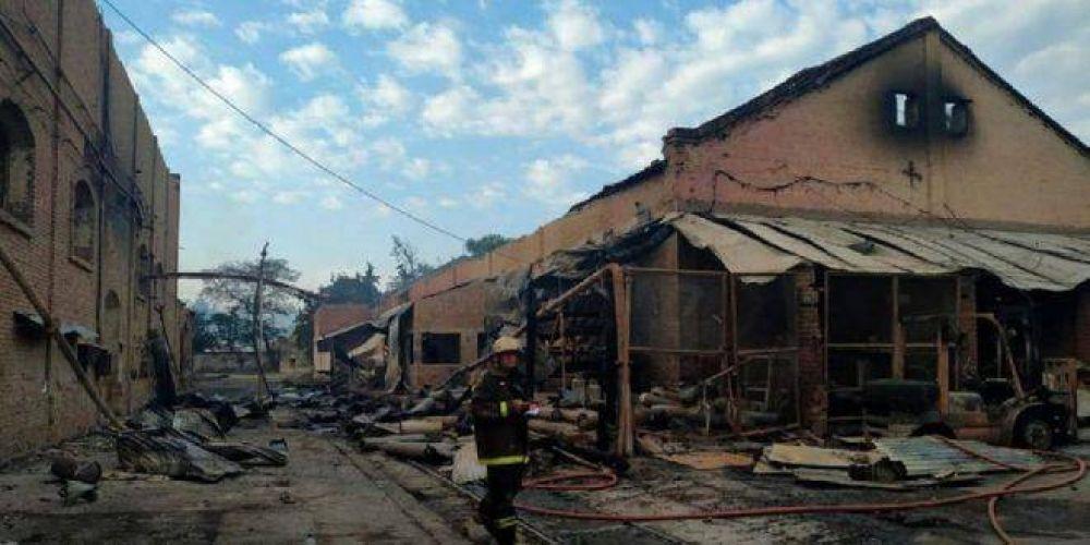 Encontraron muertos a dos desaparecidos del incendio del Ingenio La Esperanza