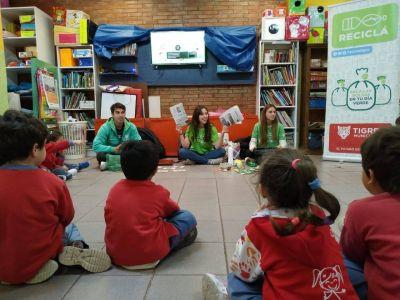 """El programa """"Reciclá"""" capacitó a más de 1.800 alumnos de escuelas de Tigre"""