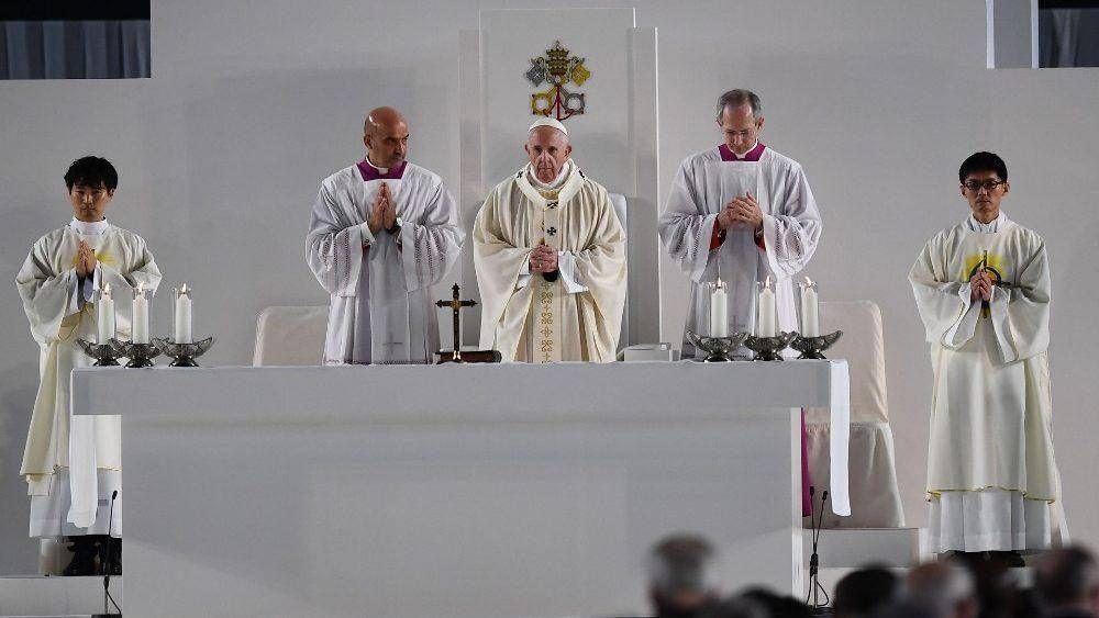 El Papa: desarrollar una pedagogía capaz de acoger todo lo que no es perfecto