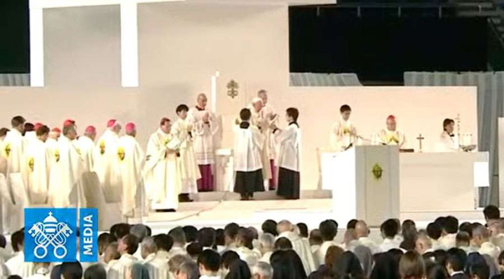 Homilía del Papa Francisco en la Misa en el Tokio Dome de Japón