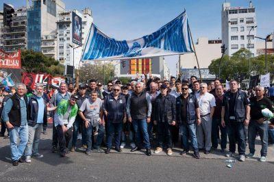 La FeMPINRA marcha contra la licitación del Puerto de Buenos Aires