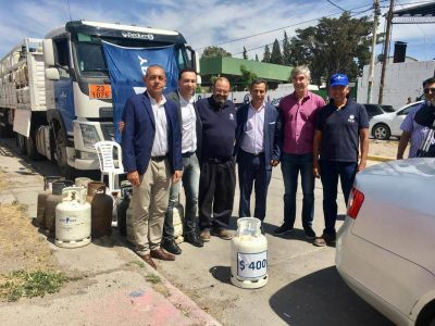Se realizó el primer operativo social de PetroChubut Gas en Trelew