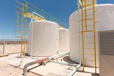 Avanza el plan de saneamiento de agua potable de Iglesia