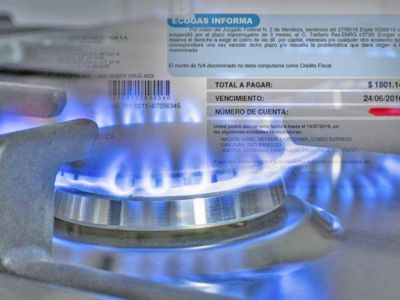 En cuatro años la tarifa de gas subió más del 2.700%