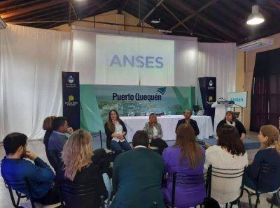 Personal de Anses realizó una jornada de asesoramiento y capacitación a los gremios portuarios