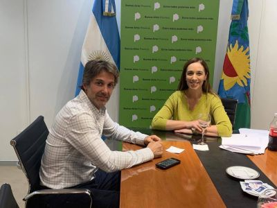 Cernadas y Vidal buscan fortalecer Juntos por el Cambio en Tigre