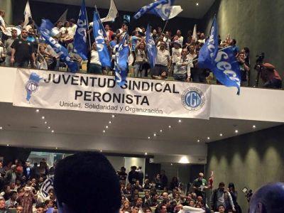 La Juventud Sindical Peronista de la CGT convocó a la fiesta de la militancia