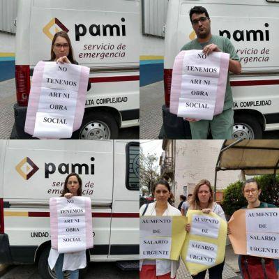 Médicos residentes de Pami están en negro y cobran 45 pesos la hora