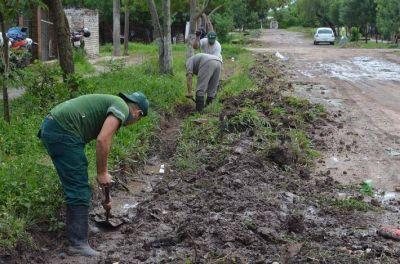 Equipo Hábitat interviene en barrios de Resistencia con obras de desagües