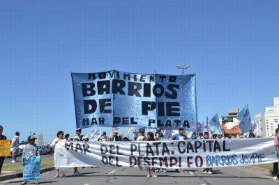 Barrios de Pie moviliza al Municipio por un bono y canasta navideña