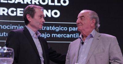 En modo articulador político gremial, Beliz inauguró un centro de capacitación con Cavalieri