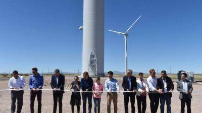 Se inauguró un nuevo parque eólico en Bahía Blanca