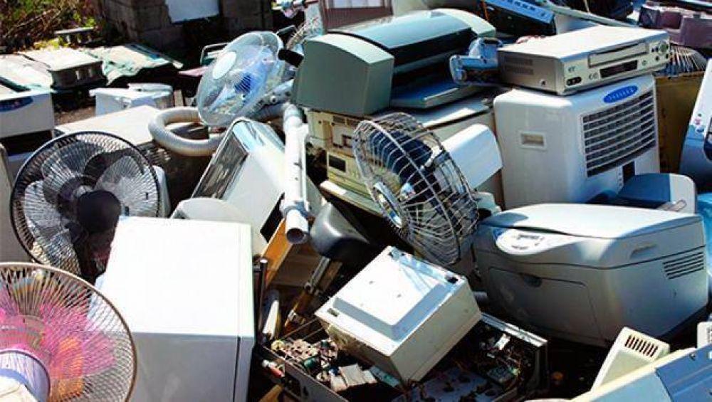 Residuos electrónicos: Harán una campaña de recolección en todo el partido de Escobar