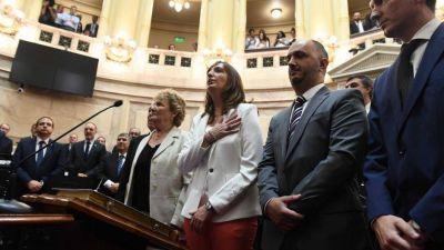 Cristina nombró funcionarios en el Senado y consolidó su poder