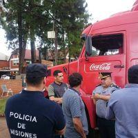 Protesta de empleados por despidos en Coca Cola