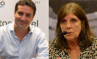 Maximiliano Abad y Teresa García fueron premiados en la Legislatura