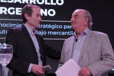 """Gustavo Béliz, el enigmático, y """"El Coti"""" Nosiglia en Boca Juniors"""