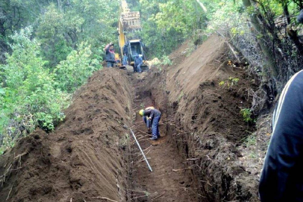 Comenzaron las obras para proveer de agua potable a 3.000 barilochenses del oeste