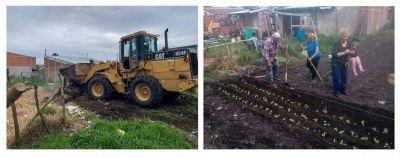 De basural a huerta comunitaria: nuevo emprendimiento en Monte Varela