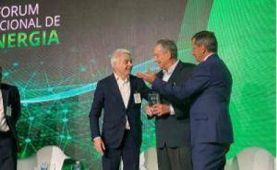 Otorgaron el Premio LIDE Energía 2019 a Ernesto López Anadón, presidente del IAPG