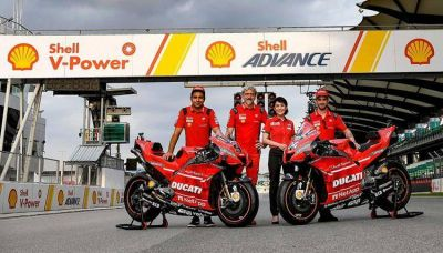Shell y Ducati cumplen 21 años juntos y renuevan su alianza hasta el 2022