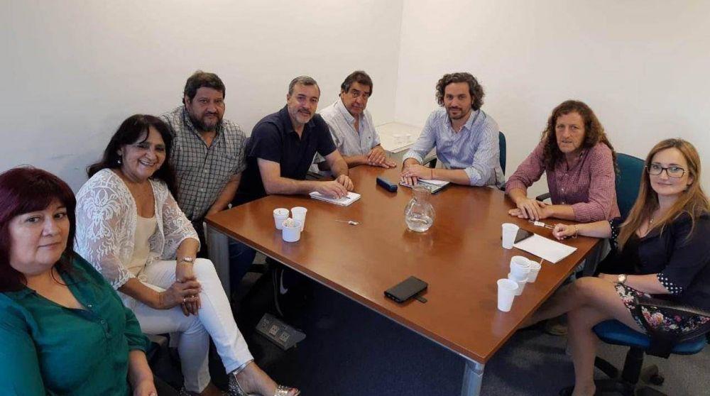 ATE recibió a Cafiero y le pidió que anule el decreto que blinda funcionarios de Macri en el Estado
