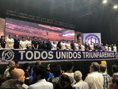 La Juventud Sindical Peronista se relanzó bajo el lema