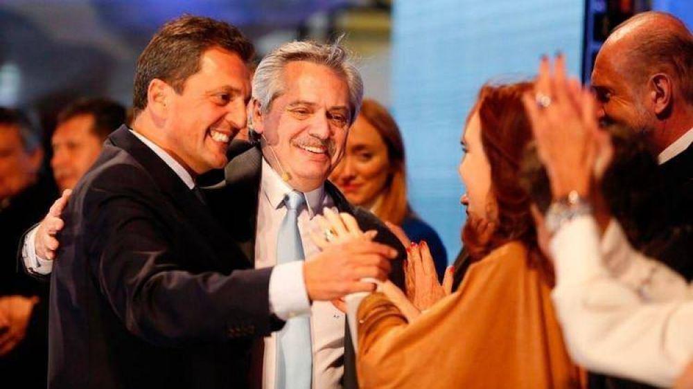 Alberto Fernández hará equilibrio entre CFK y Massa para bajar la tensión interna antes de llegar al gobierno
