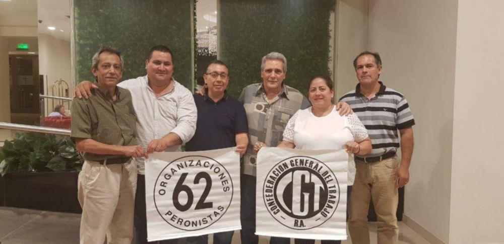 El secretario general de la CGT nacional se reunió con sindicalistas